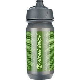 rie:sel design bot:tle 500ml, skull honeycomb green